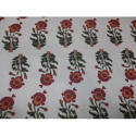 Floral Printed Cambric Fabric