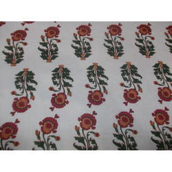 Printed Floral Cambric Fabric, Use: Garments