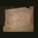 Carved Sandstone Planter