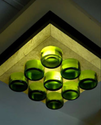 Green And Yellow Bottoms Up 9-in-1 Lamp