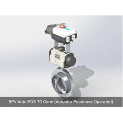 BFV Actu POS TC Cone Actuator Positioner Operated