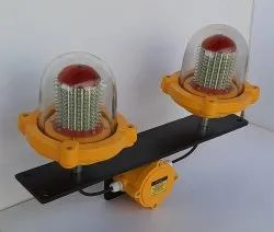 Aviation Obstruction Lamp Twin Type Flashing