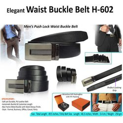 Elegant Waist Buckle Belt H-602
