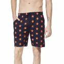 Men Star Printed Shorts
