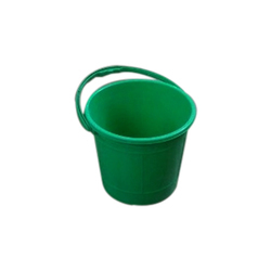 Green Water Plastic Bucket