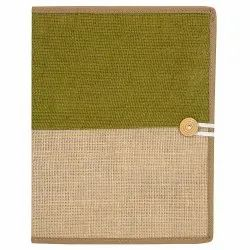 Button Closer Portfolio Jute File Folder