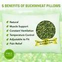 Buck Wheat Hull Pillow