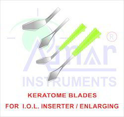 Ophthalmic Microsurgical Keratome Blade