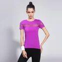 Womens Workout Gym T Shirt