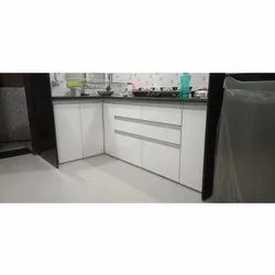 L Wooden Kitchen Cupboard For Home