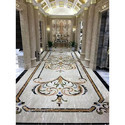 Antique Marble Inlay Flooring Service