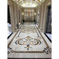 Antique Marble Inlay Flooring Service
