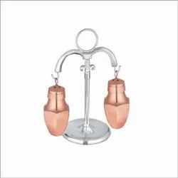 Salt & Pepper Shaker Set, Copper