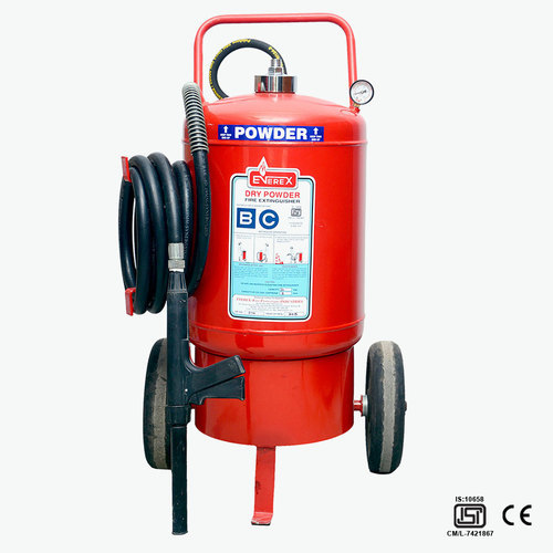 21d55970a77b Trolley Mounted Powder Fire Extinguisher at Rs 650  piece ...