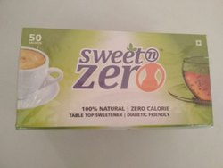 Sweet Zero Stevia Sachet - Zero Calorie & Fat Free Sweeteners - Natural Stevia - Sugar Free