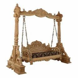 Elegant Wooden Swing