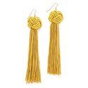 Knot Tassel Earrings