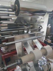 Paper Roll To Roll Lamination With Sliting