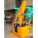 Hydraulic Floor Crane With Extended Boom