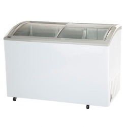 Haier 400 Ltrs Curved Glass Top Freezer HCF-400GHC