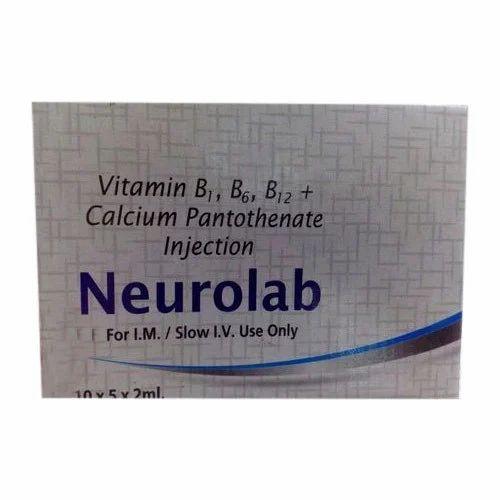 Vitamin B1, B6,B12 Calcium Pantothenate Injection - Nirmal
