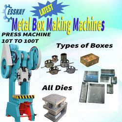 Metal Box Making Machine