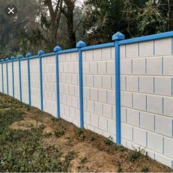 Precast Prestressed Concrete Boundary Wall