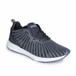 Sports Wear LEAP7X Mens Dark Grey Lacing Shoes