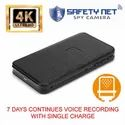 CAM 360 4K Spy Voice Recorder 7 Days Continues Voice Recording with Single Charge Store 15 Days Data