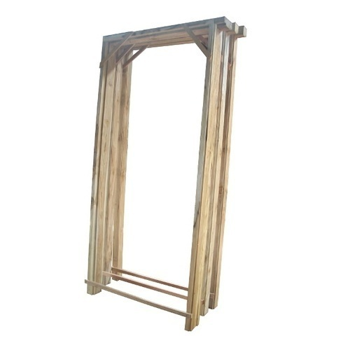 Teak Wood Door Frame  sc 1 st  IndiaMART & Teak Wood Door Frame at Rs 1550 /cubic feet | Hydershakote ...