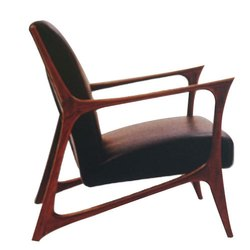 Brown Teak Wood Modern Wooden Chair