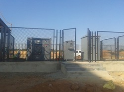 Mild Steel Electrical Yard Fencing, For Industrial