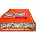 Marbel Chiffon Zari Saree Printed Saree