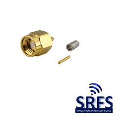 SMA Male Straight Connector for RG 178 Cable