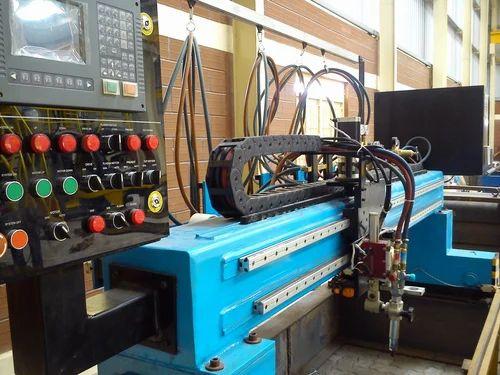 CNC Plasma Cum Oxyfuel Plate Cutting