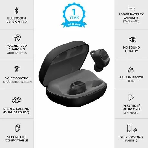 00cb80183b7 Earbuds Noise Shots X5 Charge, For Mobile, Rs 4999 /piece | ID ...