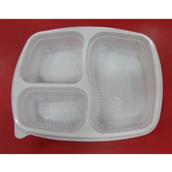 3 Compartment Meal Packaging Tray