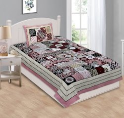 Cotton Designer Single Bed Sheet