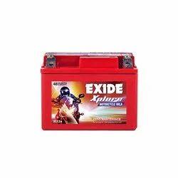 Exide Xplore XLTZ4 Motorcycle Battery, Capacity: 3 Ah, Battery Type: Acid Lead Battery