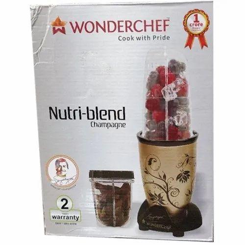 0054dd1f8 Brown 750 W Wonder Chef Nutri Blend Electric Blender