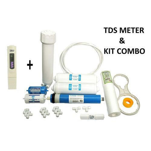Plastic TDS Meter And Complete RO Service Kit