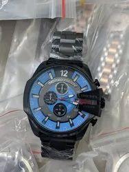 Diesel 10 Bar Men''s Chronograph Wrist Watch