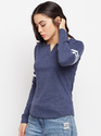 Ladies Full Sleeves Cotton T-Shirt
