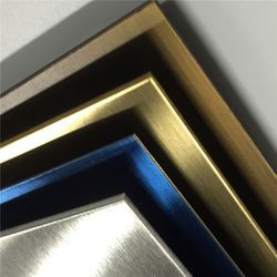 Stainless Steel Titanium Coated Color Sheet