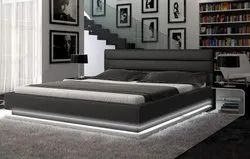 platform bed (wooden double bed)