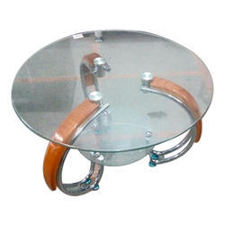Glass Round Center Table