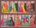 Banarasi silk Designer Lehenga
