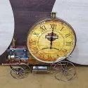 Train Engine Table Clock