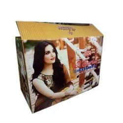 Rectangle Printed Corrugated Paper Box, for Packaging, Box Capacity: 1-5 Kg