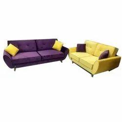 Solid Wood 4 Seater Designer Sofa Set